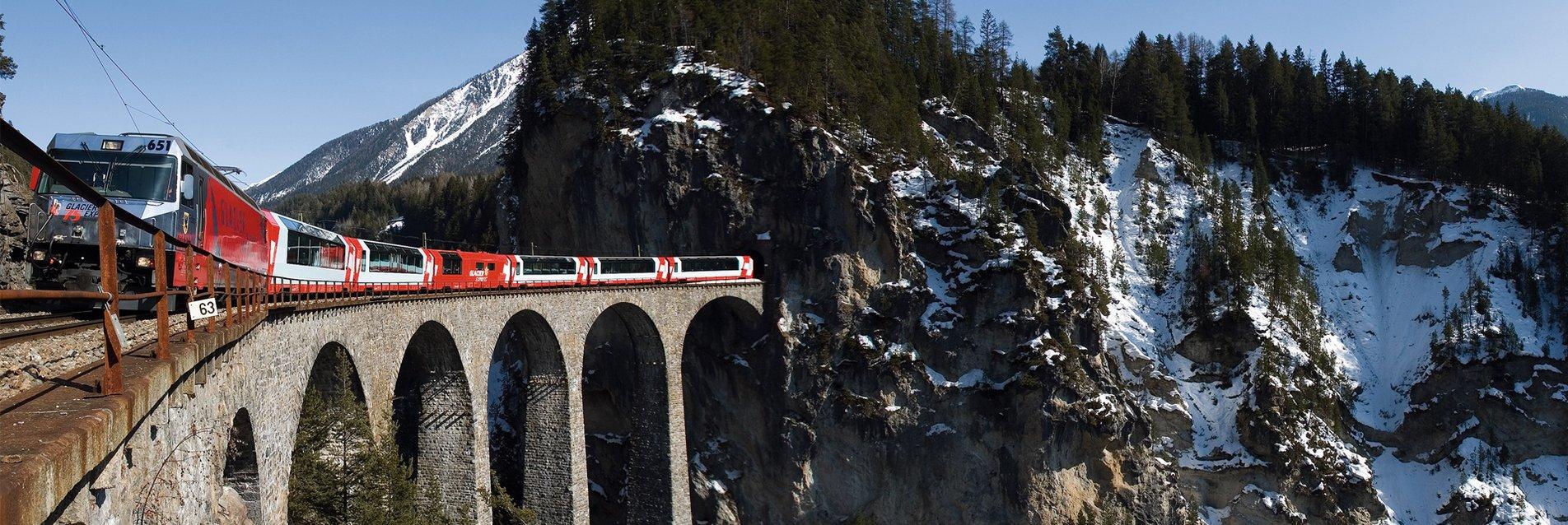 Glacier Express - Route