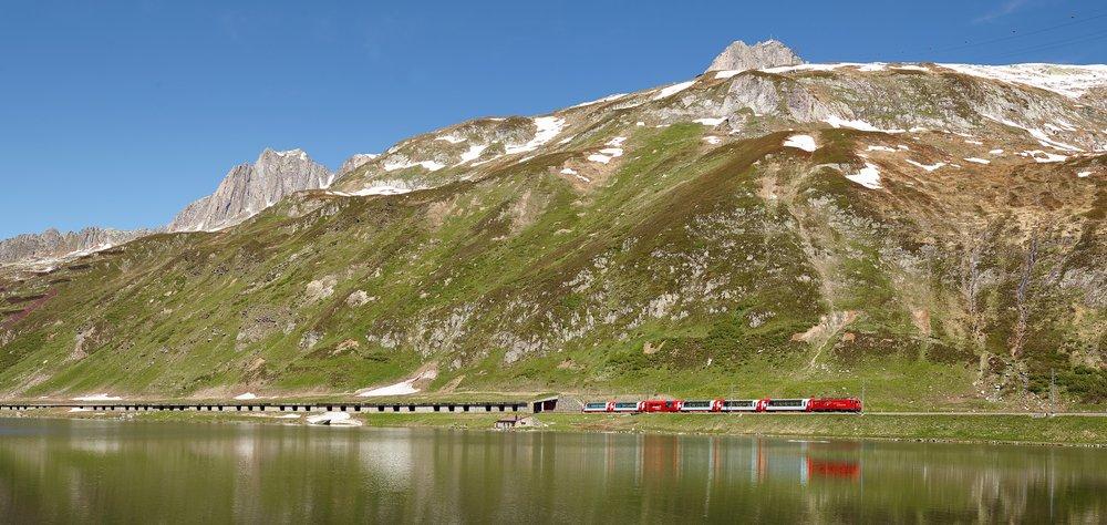 Willkommen zurück auf dem Glacier Express